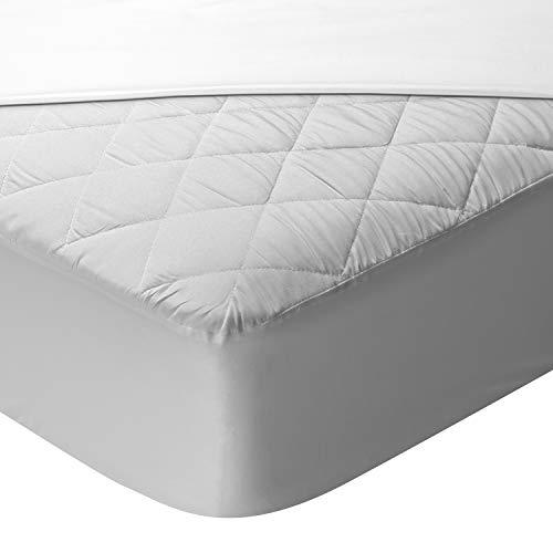 Pikolin Home - Protector de colchón Acolchado Aloe Vera Impermeable y Transpirable con faldón elástico Cama de 80 - 80 x 190/200 cm