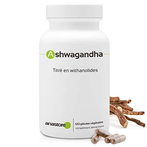 ASHWAGANDHA * 400 mg / 120 gélules * Titrée à 5% en Withanolides * Energie, Équilibre émotionnel, Sommeil, Vitalité