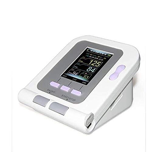 WRJ Digitaler Veterinär-Blutdruckmessgerät, Hund Katze Tiere Mit 3 Cuffs Care Vollautomatische Messung High-Definition-Farb-LCD-Display,1