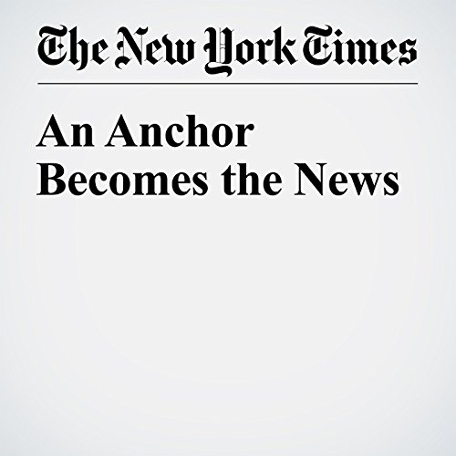 An Anchor Becomes the News copertina