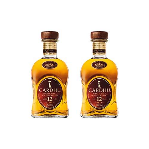 Cardhu 12 Years/Jahre, 2er, Single Malt, Whisky, Scotch, Alkohol, Alokoholgetränk, Flasche, 40%, 700 ml, 715237
