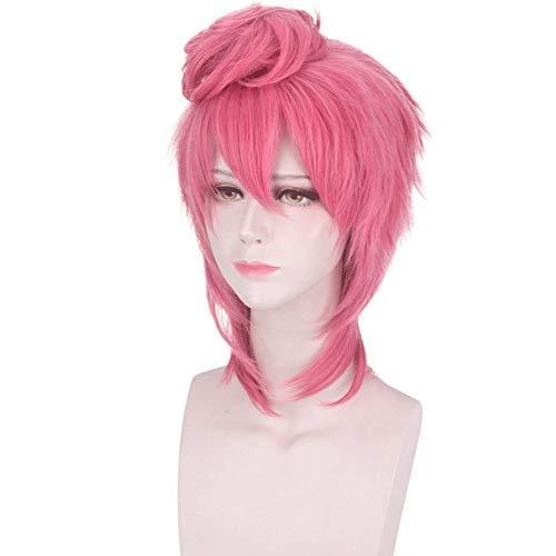 Bizarre Adventure Max 87% OFF Trish Una Spice Girl Fashion Head wig Boston Mall Cosplay