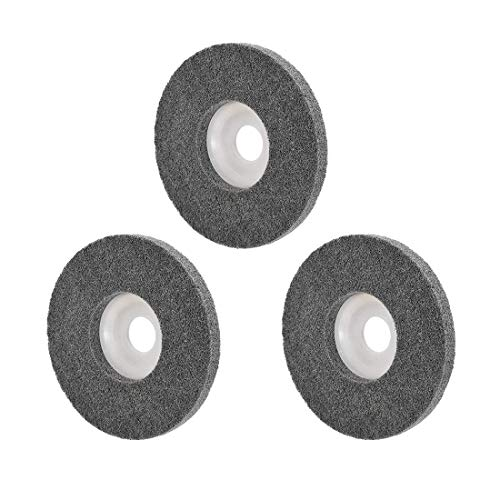 Ruedas de pulido de 5 pulgadas para 100 amoladoras angulares de esquina, 3 piezas