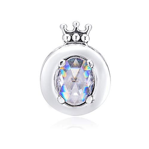 COOLTASTE 2019 jesień błyszcząca korona O koralik srebro próby 925 DIY pasuje do oryginalnych bransoletek Pandora charm modna biżuteria
