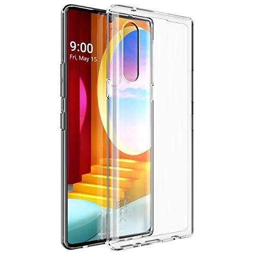 CoverKingz Handyhülle für LG Velvet - Silikon Handy Hülle Velvet - Soft Case Slim Cover Transparent