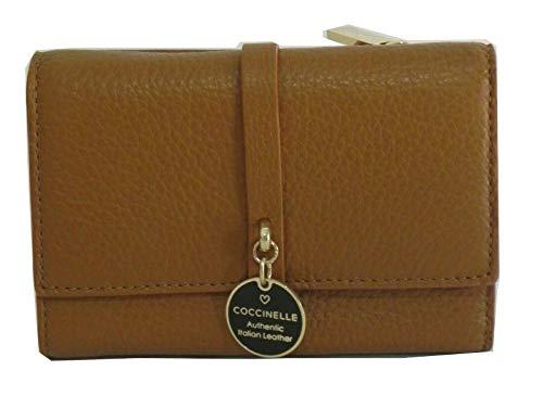 Portemonnee Coccinelle Alpha soft klein E2ES5116601 W03 caramel
