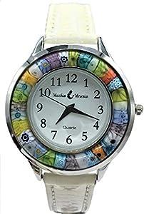 Vinciprova le Gemme di Venezia Reloj Mujer Azul Watch (Cristal de Murano y Antigua Murrine Millefiori