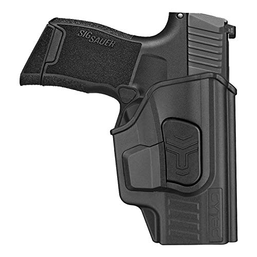 Polymer OWB Holster for Sig Sauer P365 Micro-Compact 9mm / P365 XL / P365 SAS - Index Finger Released | Adjustable Cant | Autolock | Outside Waistband Belt Clip | Right Handed