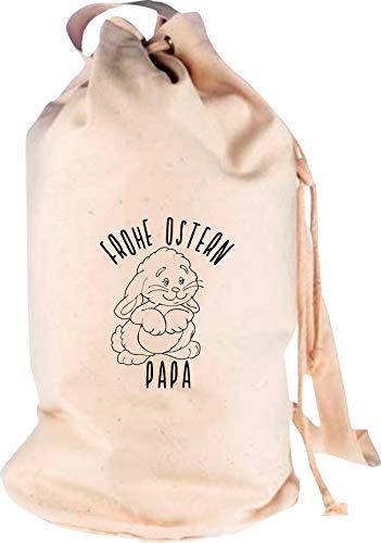 Shirtstown Sac à dos de voyage Motif papa, Adulte (unisexe), naturel, 30 cm x 53 cm x 30 cm