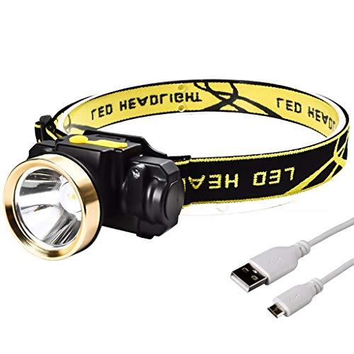 10 W LED-hoofdlamp voor lichaam, bewegingsmelder, mini-schijnwerper, oplaadbaar, camping buitenshuis, zaklamp, kop, zaklamp, superlight met USB