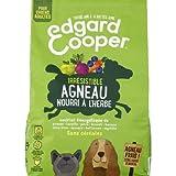 EDGARD&COOPER - Pienso de adulto natural sin cereales de cordero fresco – Bolsa de 1 kg