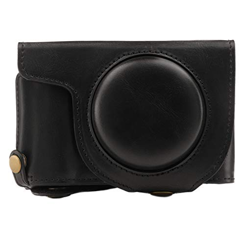 MegaGear MG1543 Fujifilm XF10 Ever Ready Leather Camera Case and Strap - Black
