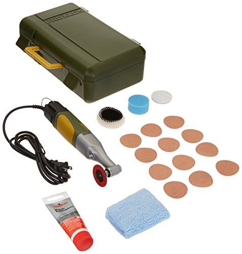 Angle Polisher, Yellow/Green/Black - Proxxon 38660