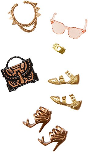 Barbie Accessories: Fashion - Gold