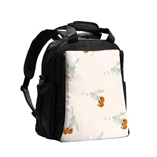 Ausgefallene Wickeltasche Rucksack Chinese Martial Sports Taekwondo Männer Wickeltasche Rucksack Multifunktions-Reiserucksack mit Wickelunterlage für die Babypflege