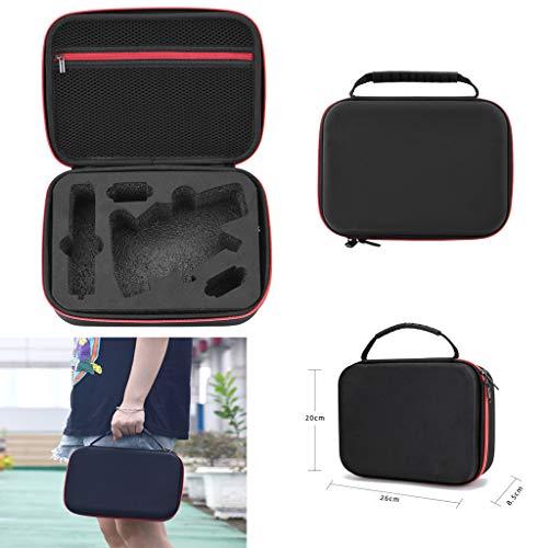 L9WEI Handtasche Koffer für DJI OSMO Mobile 3, Tasche Tragbar für DJI OSMO Mobile 3, Dämpfung Antikollisions Gimbal Kameradrohnen Sack RC Drone Zubehör (schwarz, 26 * 20 * 9 cm)