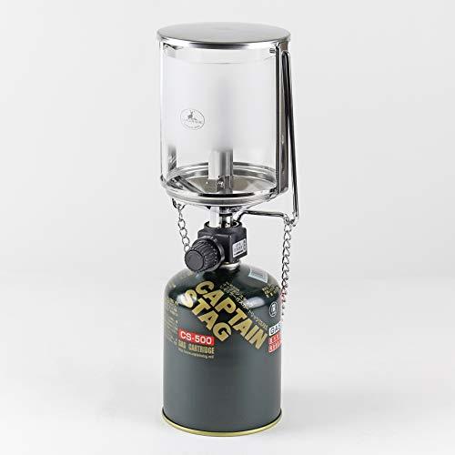キャプテンスタッグ(CAPTAINSTAG)キャンプ防災用ガスランタンライト照明フィールドL圧電点火装置付UF-8