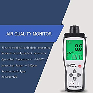 Yaoaomon Analizador de la Calidad del Aire Medidor de amoniaco Analizador del Detector de Gas Probador