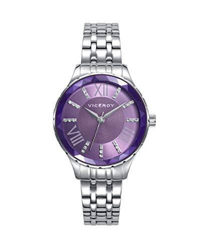 Reloj VICEROY Mujer Acero Esfera Morada