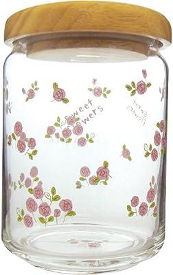 Sweet Flowers 木蓋キャニスター バラ 540635