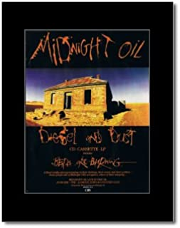 Music Ad World Midnight Oil - Diesel and Dust Mini Poster - 28.5x21cm