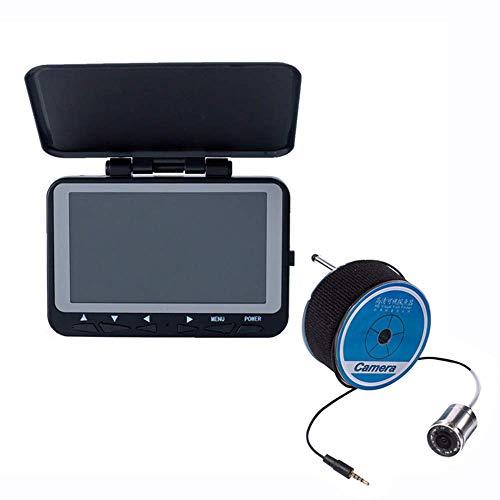 Hoeveelheid: 88 draagbare visvinder, 4,3 inch (4,3 inch) HD-camera, 1000 TVL, met 8 infrarood lampen, 140 ° camera, 4400 mAh kabellengte heroplaadbaar batterij 15 m