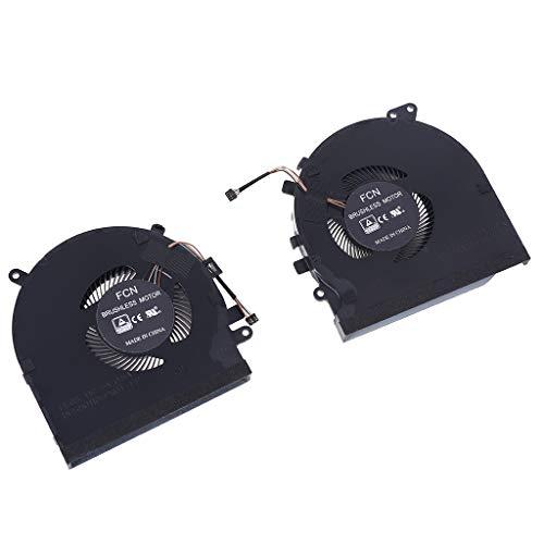 zhiwenCZW CPU GPU Lüfter Laptop Kühler Kühler für RZ09-0270 GTX1060 Grafikkarte 15 15,6