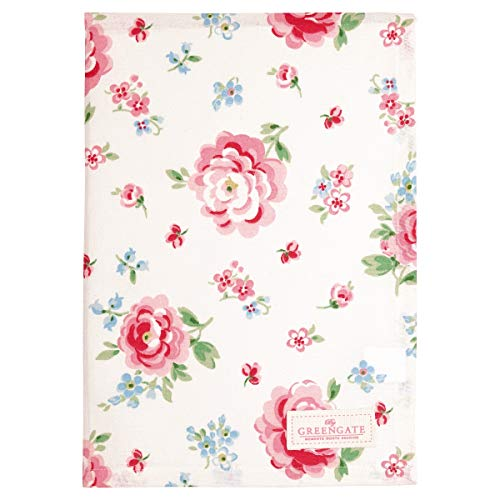 GreenGate Tea Towel Meryl mega White