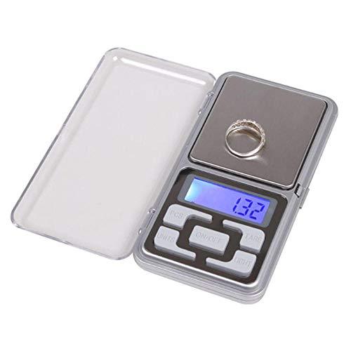 Kleine LCD-Anzeige Schmuck Waage Edelstein Waage Waage Waage E-Pocket Waage 0.1G / 500 G 500G
