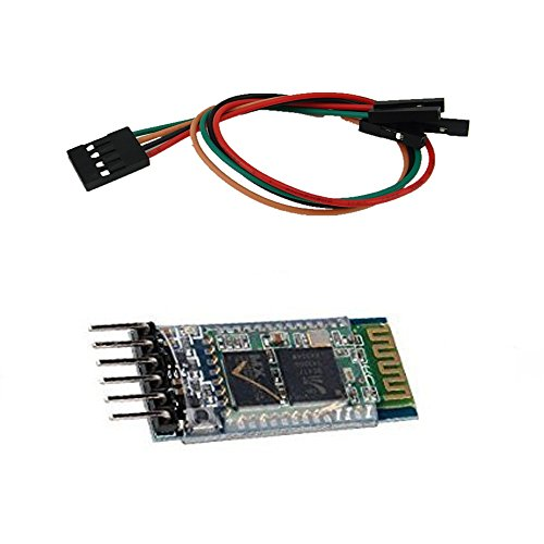 Honbay Wireless Bluetooth Host Serial Transceiver Module Slave and Master RS232 For Arduino + 4Pin DuPont Cable