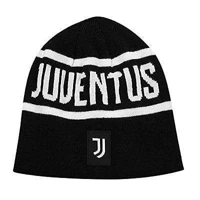 Icon Sports Mens Reversible Team Beanie UEFA Champions League Soccer Juventus, Team Color, OSFM