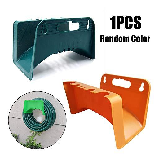 SNIIA 1 stuk muur tuinslang ophangbeugel beugel hek uitbreiding geschikt voor slang robuuste slang draadkabel haak ophangsysteem -willekeurige kleur