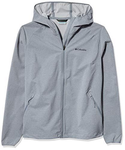 Columbia Damen Softshell-Jacke Heather Canyon, Grau (Tradewinds Grey Heather), S