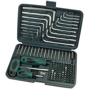 Mannesmann - M29805 - Surtido de puntas, 139 piezas: Amazon.es: Bricolaje y herramientas