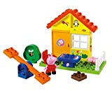 BIG-Bloxx Peppa Garten Haus - Peppa's Garden House, Construction Set, BIG-Bloxx Set inklusive Peppa, 19 Teile, Multicolour, für Kinder ab 18 Monaten