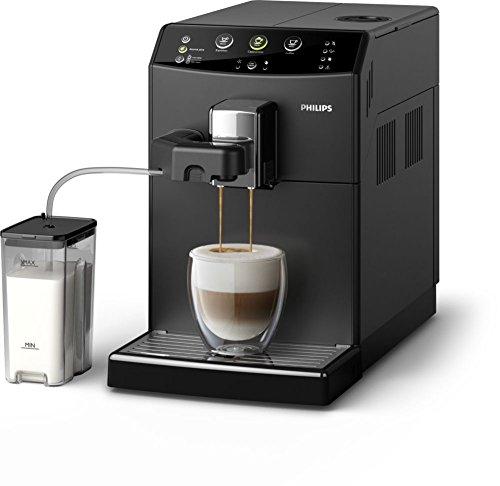 Philips 3000 series HD8829/09 machine 1,8L Cafetière Espresso noir (indépendant entièrement automatique Espresso machine grains De Café Café moulu doré Café expresso,) Noir