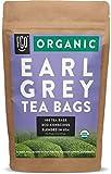 Organic Earl Grey Black Tea Bags   100 Tea Bags   Chinese Keemun, Indian Assam & Italian Bergamot Blend   Eco-Conscious Tea Bags in Kraft Bag   by FGO