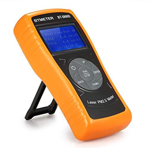 ZYY Digital Monitor de Calidad del Aire, Concentración alta precisión PM2.5 detector de partículas PM10 herramienta Sensor Tester Gas Aire analizador de diagnóstico for el Ministerio del Interior
