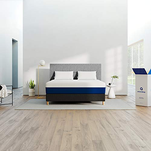 AMERISLEEP AS2-Hybrid-Memory-Foam-w/Springs-Mattress-QUEEN-Size | Pocket Coil Springs | Celliant Cover | Bio-Pur Plant Based Material | Made in USA | 20-Year Warranty
