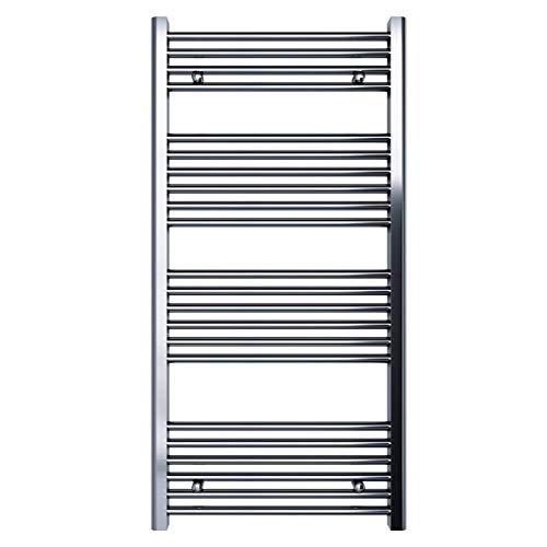 Handdoekradiator badkamerradiator radiator CROME - verschillende maten 1200x600 Verchroomd