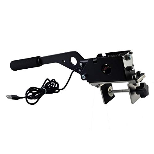 Freno a mano SIM USB per giochi di corse G25 / 27/29 T500 FANATECOSW DIRT RALLY NERO HB-02-BK