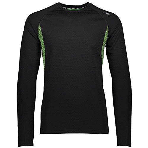CMP T-Shirt de Course à Manches T-Shirt XL Noir