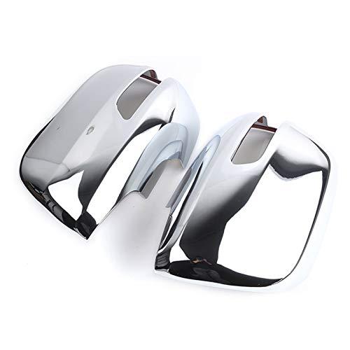 KCSAC Cubierta para espejo retrovisor lateral para Toyota Land Cruiser Prado FJ150 2010 2011 2012 2013 2014 2015 2016 2017 2018