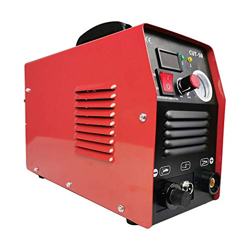 LYYNTTK 50Amp Plasma Cutter Dual Voltage 110V 220V Portable Plasma Welder Plasma Cutting Machine Cut50 Inverter Digital Plasma Welding Machine(50 Amp 110V 220V)