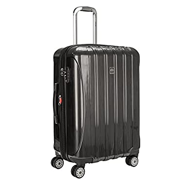 DELSEY Paris Helium Aero 25  Exp. Spinner Trolley, Brushed Charcoal
