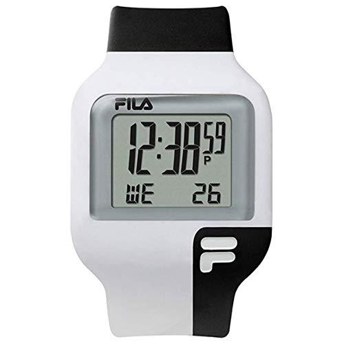 FILA Reloj Digital para Unisex Adulto de Cuarzo con Correa en Silicone 1