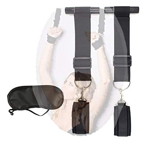 Draagbare hangende polsbandjes voor binnenspel, geschikt voor reizen, inclusief een gratis oogmasker