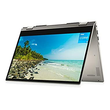 2021 Newest Dell Inspiron 14″ 2-in-1 HD Touchscreen Laptop, 11th Gen Intel Core i3-1115G4, Webcam, Online Class Ready, HDMI, FP Reader, WiFi, Win10 Home, Dune Silver (12GB RAM | 256GB PCIe SSD)