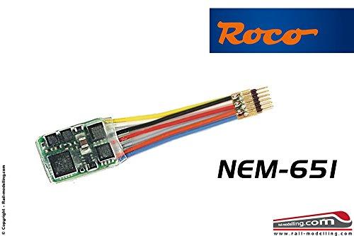 Fleischmann 685504 6-poliger Decoder mit Stecker (NEM 651)