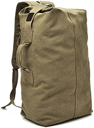 Large Capacity Travel Climbing Bag Tactical Military Duffel Bag Top Load Double Strap Canvas product image